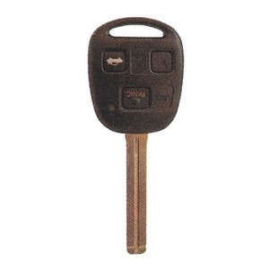 Lexus car transponder key